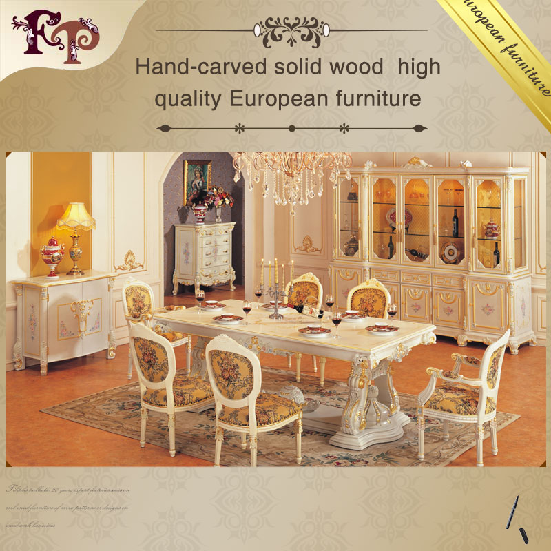 European Style Furniture   Royalty Classic Dining Room Set   Buy European  Furniture,Royal Furniture French Style,Italian Classical Office Furniture  Product ...