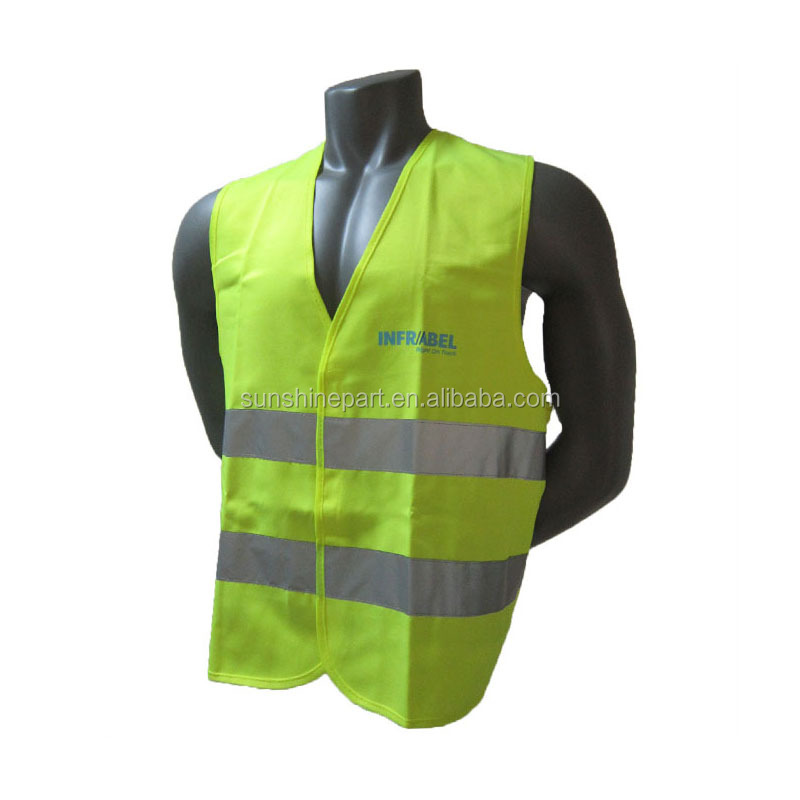 Hot Selling Polyester EN20471 Reflecterende Veiligheid Vest