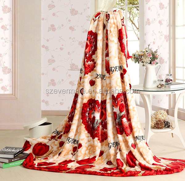 High quality customized discount cool throw blankets for bed