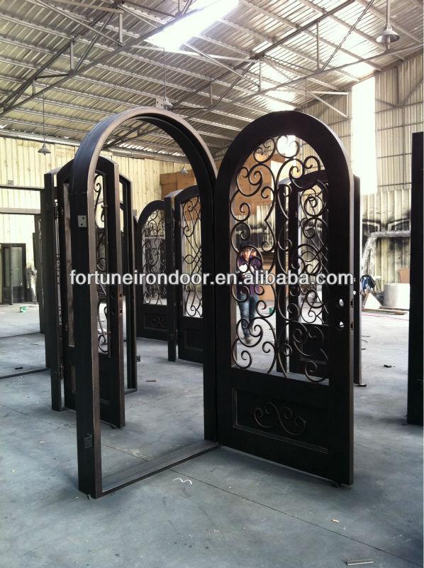Puerta hierro forjado puertas de hierro forjado wid for Modelos de puertas de hierro para casa