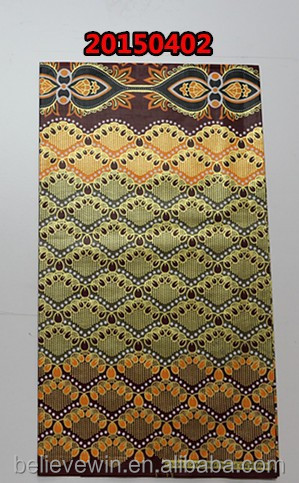 wax fabric african real wax cotton fabric for african garment