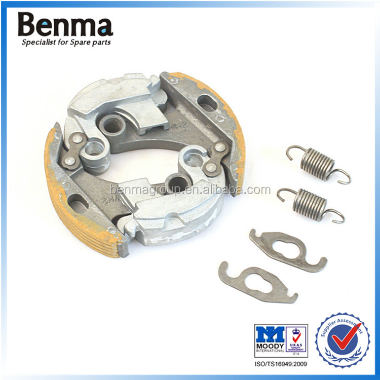 China supplier sell small dirt bike YMH PW50 PY50 clutch separate block clutch shoe