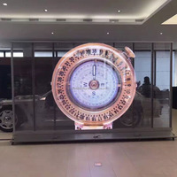 MPLED 6500CD High Brightness under Sunshine Cheaper Price Glass LED Display Transparent LED Screen
