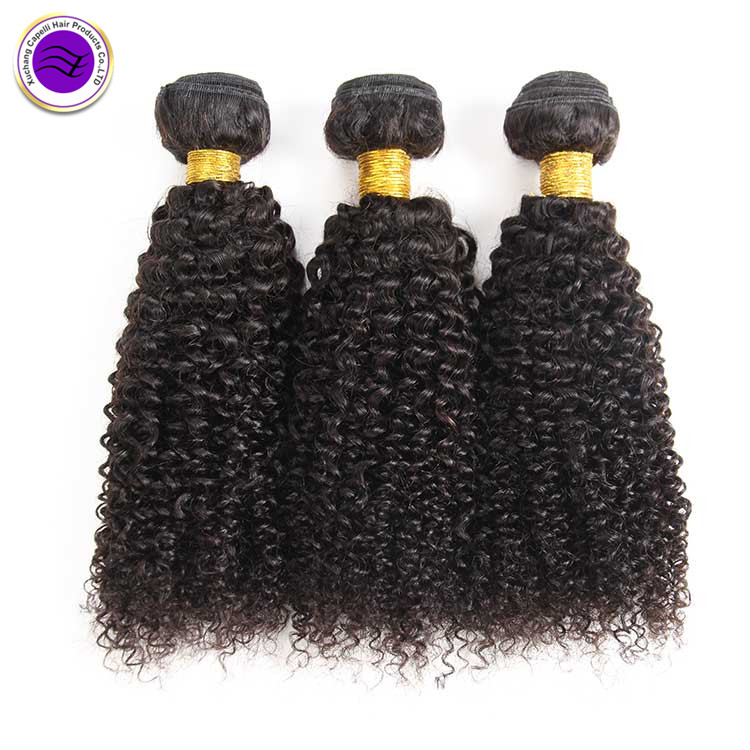 Wholesale unprocessed mink cuticle aligned hair Brazilian kinky curly wave virgin remy human hair