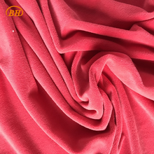 High Quality 100% Polyester Solid Flannel Fabric for Gament/Pajamas/Blanket