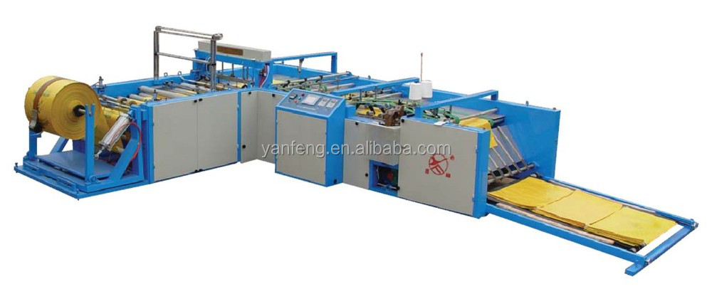 Automatic Cutting And Sewing Machine For Pp Woven Bag Price Buy Inspiration Automatic Cutting And Sewing Machine Price