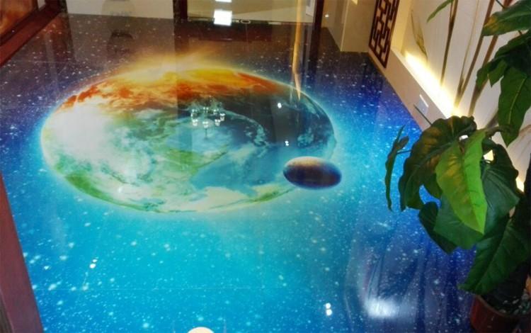 High Burn 3d Ocean Blue Designs 3d Ceramic Floor Tiles
