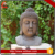 Handmade decorative sandsone buddha head statue ornament