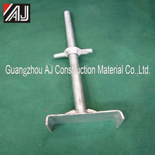 Wholesale adjustabel steel scaffolding u head jack base