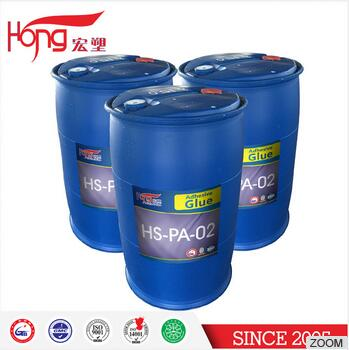 2017 Factory liquid emulsion glue for Pe / PVC / PET sticker label acrylic glue