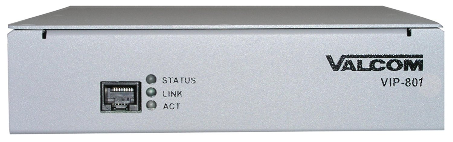 VALCOM VC-VIP-801 Networked Page Zone Extender