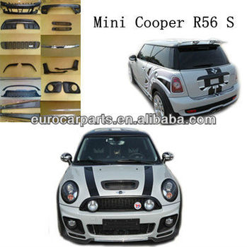 High Quality Pp R56 Tops Style Body Kit For Mini Cooper S 06 12 Product On Alibaba
