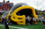 Giant Inflatable mascot Tunnel/ inflatable football helmet tunnel for sale