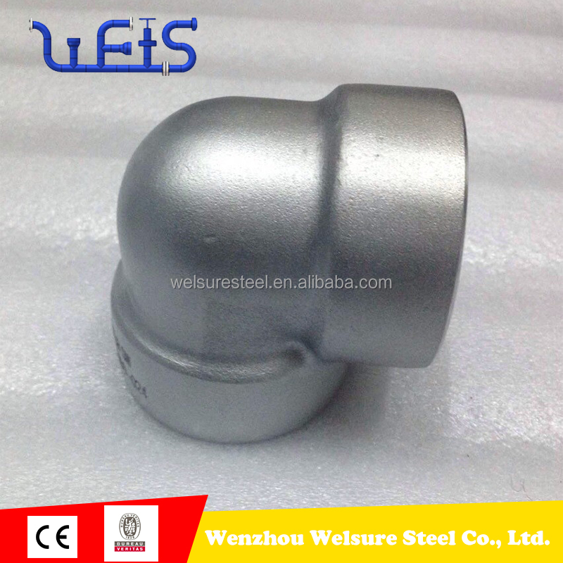 stainless steel scrap grade 304 316 90 degree swivel elbow