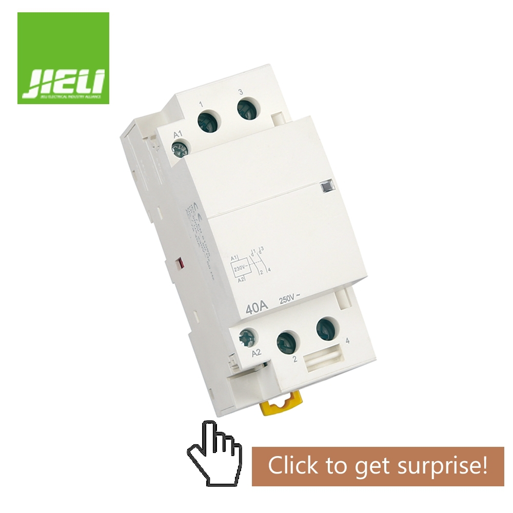 high quality types of contactor 2NO 40A Ct Modular Contactors