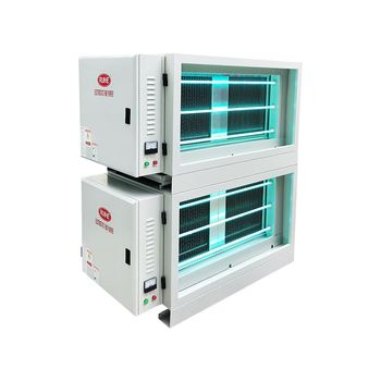 98% Smoke Removal Rate RuiHe Electrostatic Air Cleaner For Commercial Kitchen