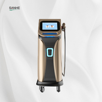 2019 New Technology Germany Bars 3 Wavelength 755 808 1064 Diode Laser /Laser Diode 808 / 808 Nm Hair Removal