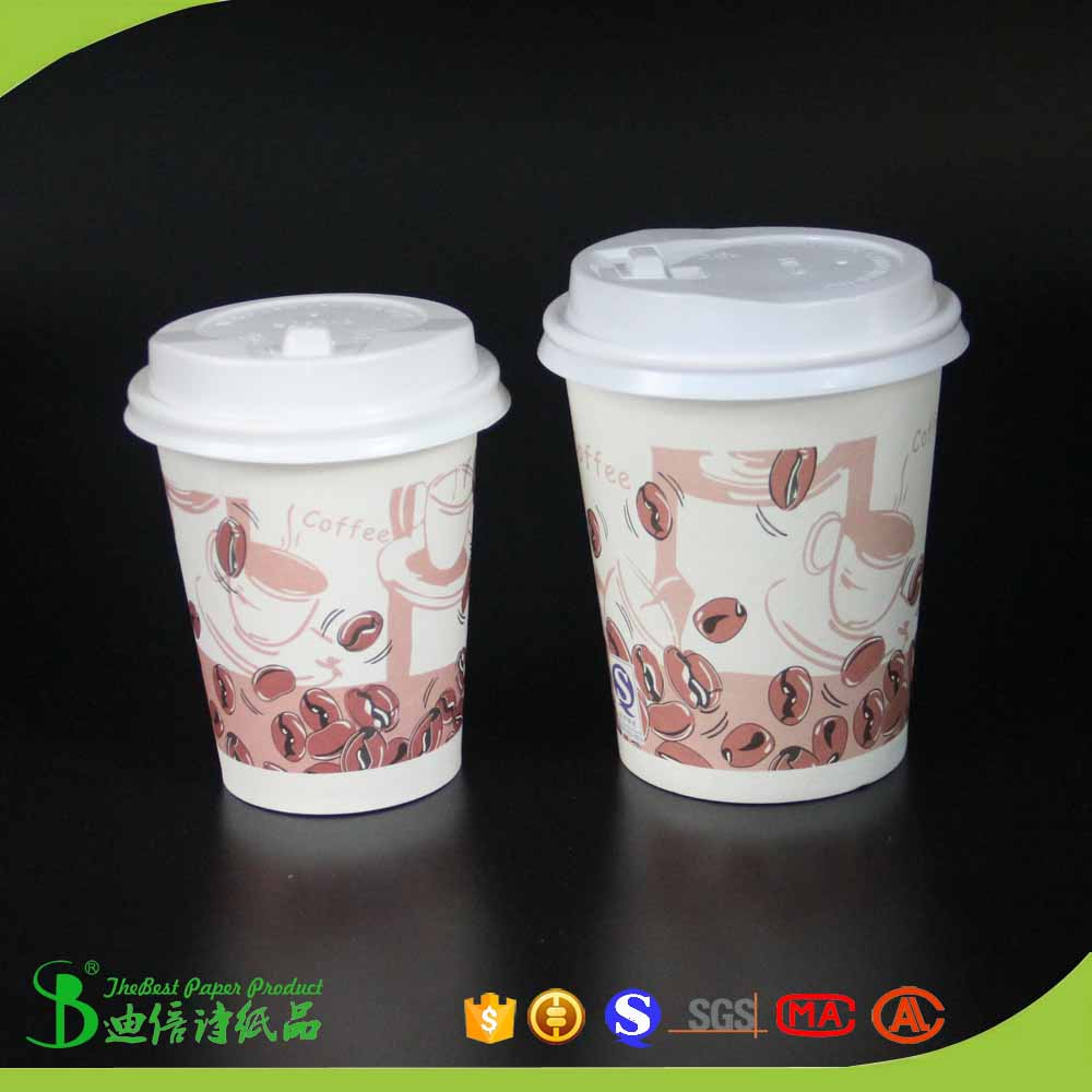 TheBEST Wholesale logo printed coffee paper cup hot drinks in uae