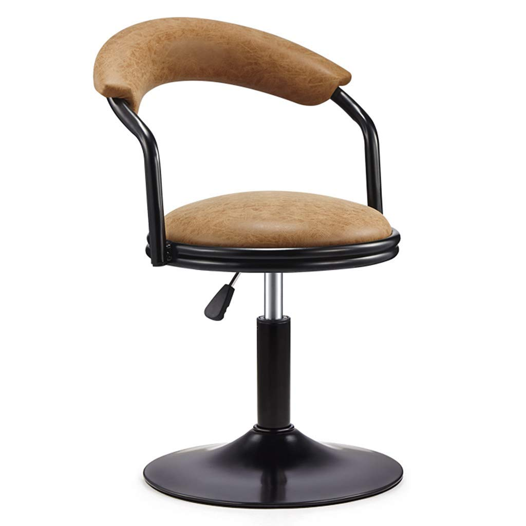 Li Wei Shop Rotating Chair Swivel Chair bar Stool Office Chair 360° Rotating Beauty Rolling Wheelchair Beauty Roller Stool Adjustable Rotating Chair Safe and Secure Adjustable bar Chair