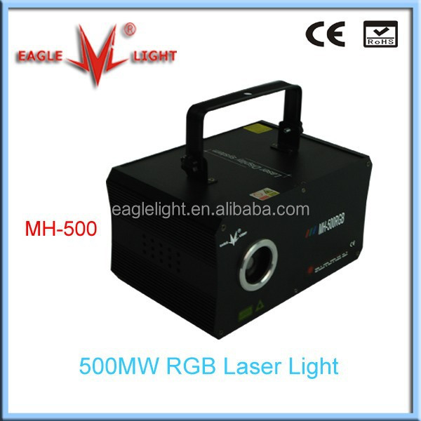 500MW RGB sparkling laser light / projector light/ home party lighting from eaglelight