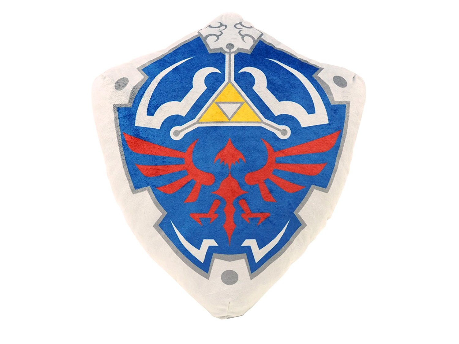 42dff441d56d Get Quotations · Little Buddy The Legend of Zelda Stuffed Plush - 1380 -  Hylian Shield Cushion