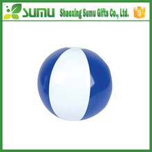 Factory direct sale fashional wholesale pvc inflatable blue beach ball