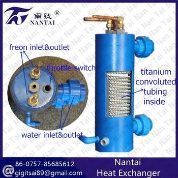 R22 Freon For Sale >> Aqua Systems Heat Exchanger Water Freon - Buy Heat Exchanger Water Freon,Water Freon Condenser ...