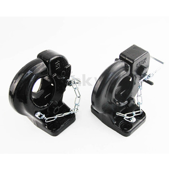 15Tons Black Painted Trailer Towing Pintle Hook