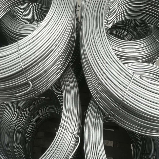 6.1mm size er5154 er5050 er5052 er5019 high strength good elongation aluminum alloy wire for code / nail / rivet