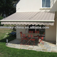 Good waterproof Polyester fabric door rain awning
