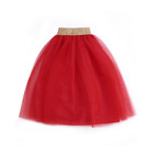 Girl tutu skirt birthday outfit baby tutu red skirt super soft party wear dresses