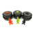 New Product Outdoor Portable Camping Ultra-light Split Pot 1-2 People Wild Picnic Pot Tableware Black Green Orange Hand