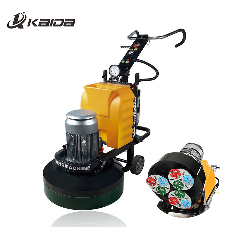 industrial floor construction planetary polishing machine