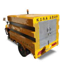 High Pressure Road Washing And Sweeping Truck Vacuum Road Sweeper Truck /Street Cleaning Truck