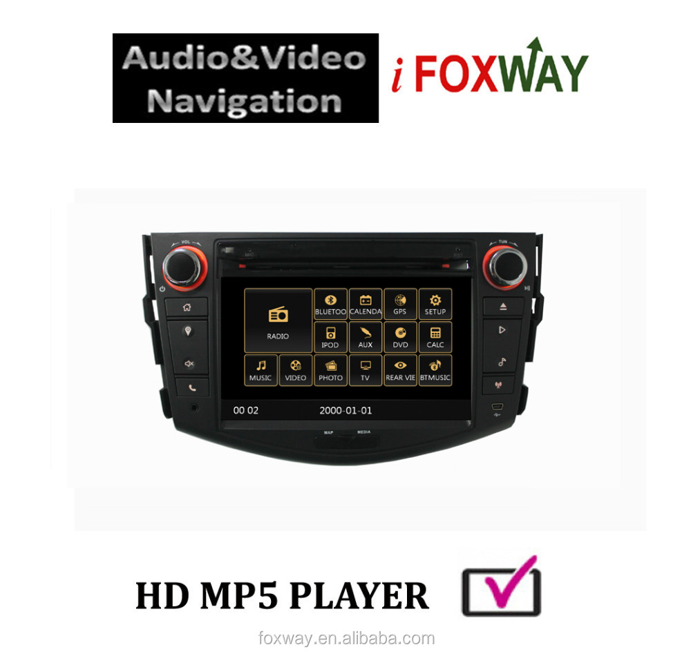 Double din Car Radios GPS navigation for Toyota RAV4 Vanguard 2008-2012