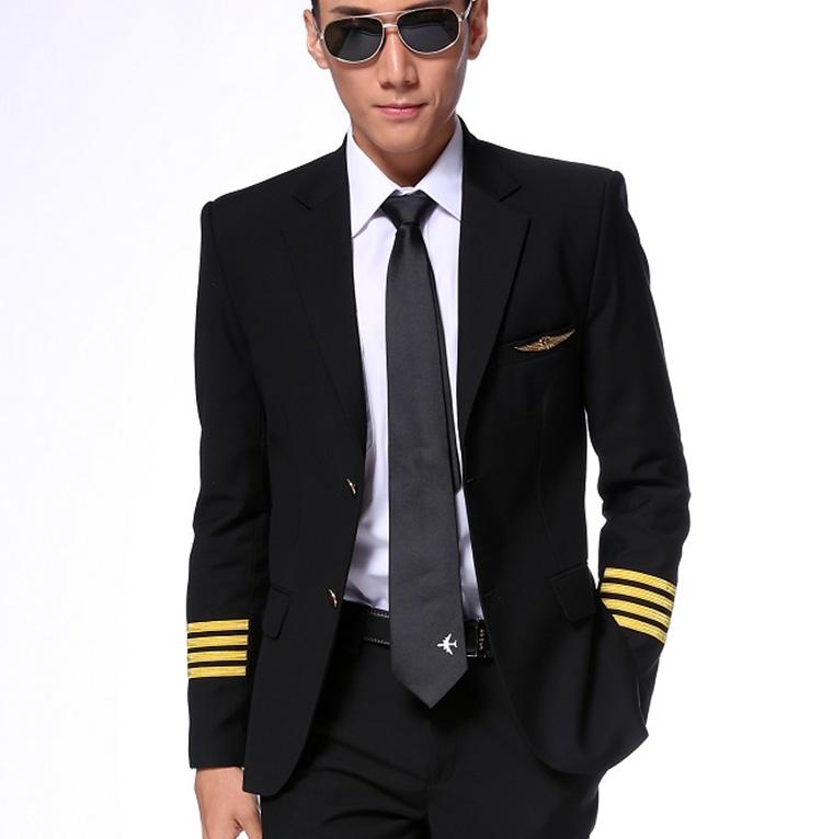 Airline pilot military uniform for captain