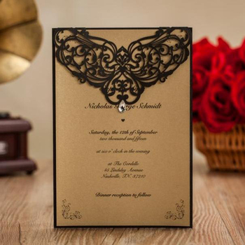 Custom Print Paper Wedding Invitations Philippines