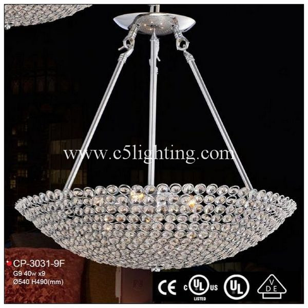 china supplier modern saa modern home crystal chandelier for livi