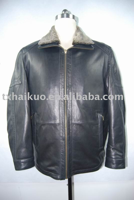 MEN'S NEW ZEALAND LEAHTER JACKETS
