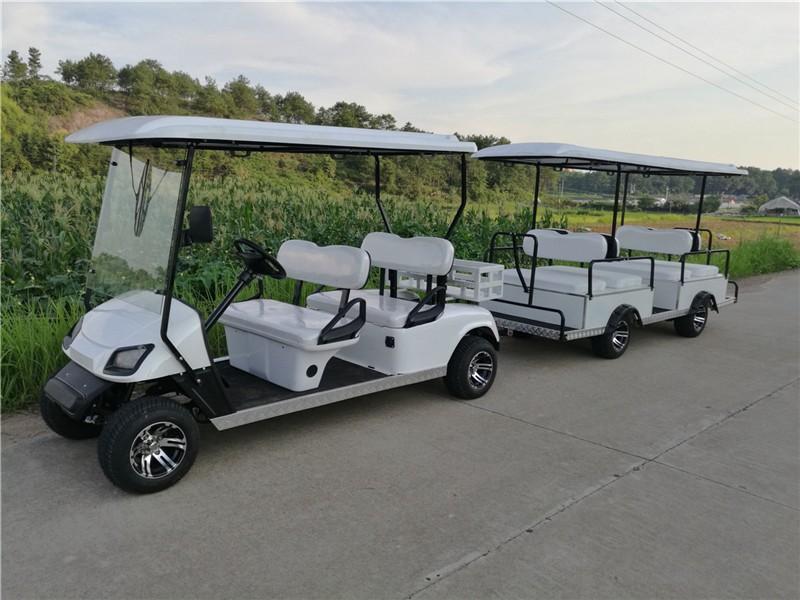 8 Seats Golf Cart Passenger Trailer Buy Golf Cart Passenger