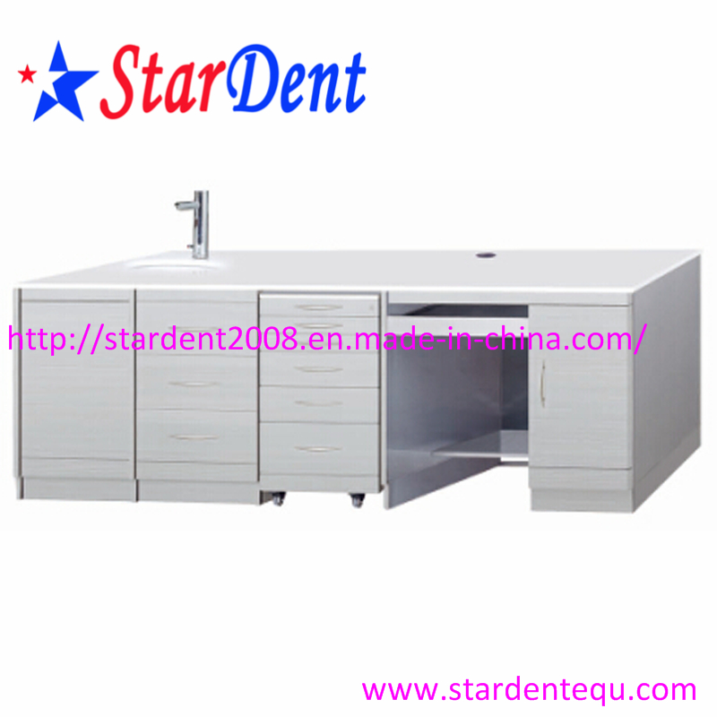 Dental Mobile Cabinet Equipped With 2 Abs Trays - Buy Dental ...