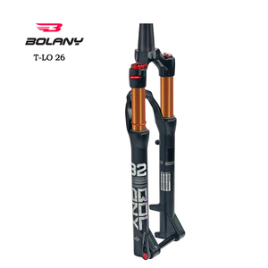 aluminum alloy double crown bicycle fork