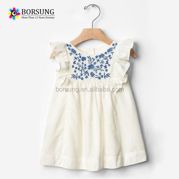 3968bfcd389e Latest summer children frocks designs baby girl embroidered angle ...