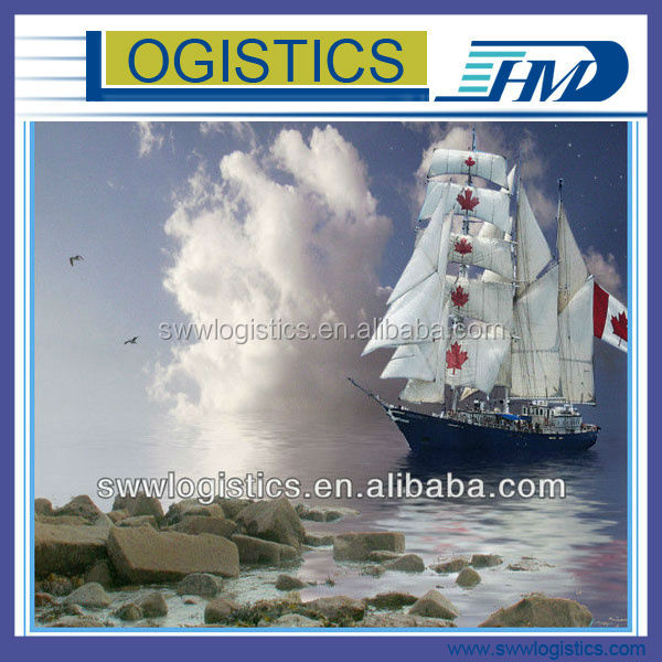 Competitve and Professional Sea Freight/Shipping service from China to toronto