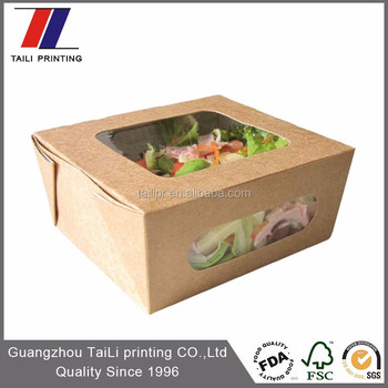 most popular logo printed sushi takeout salad takeout box buy