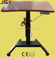 Single Electrical Column Height Adjustable Office Sit and Stand Up Computer Table JS-SL02