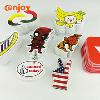 2018 china factory new products label printing funny cartoon sticker