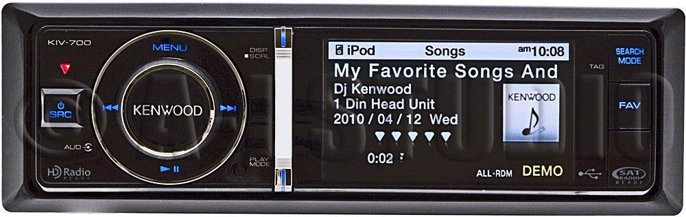 Kenwood Kiv-700 AM/FM/iPod(R)/iPhone(R) Receiver