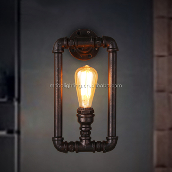Iron Vintage Wall Lamp Ms P4004