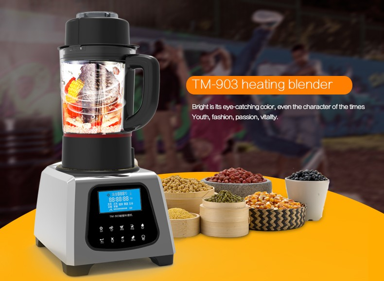 Heavy Duty Commercial 1 75l Battery Smoothie Blender